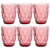 Набор стаканов 240мл 6шт ромбо серия Lefard Muza Color 781-124