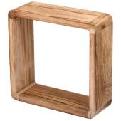 Полка Qwerty Oslo 27*27*10см деревянная
