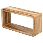 Полка Qwerty Stockholm 35*17*10см деревянная