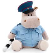 Игрушка мягкая Orange Toys бегемот господин полицейский 30см