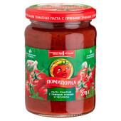 Паста томатная Помидорка 250 г с травами и чесноком ст/б
