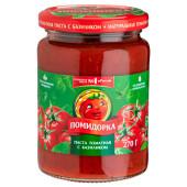 Паста томатная Помидорка 250 г с базиликом ст/б