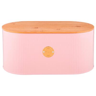 Хлебница 34*18*15см 2 в 1 Agness мэджети розовый 790-218