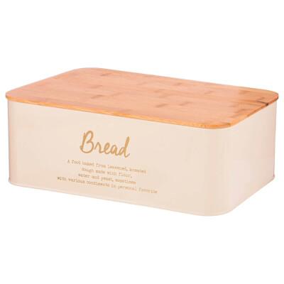 Набор хлебница 34*18*12,5см 2 в 1 агнесс+банка для сыпучих 10*10*1см 3шт 790-271