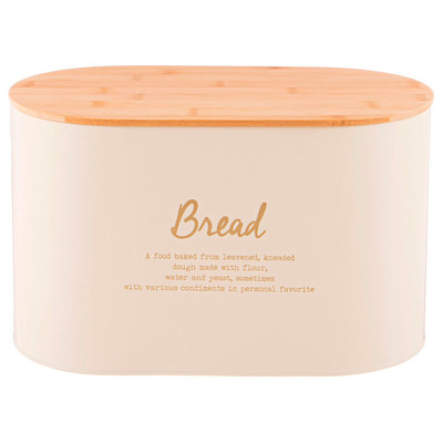 Набор хлебница 34*18*20 см 2 в 1 Agness + банка для сыпучих 11*14см 3шт 790-269