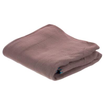 Плед флис Bolero Belezza коричневый 130*160 см