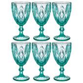 Набор бокалов для вина 6шт 320мл Lefard ромбо Muza Color 781-118