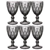 Набор бокалов для вина 6шт 320мл Lefard ромбо Muza Color 781-121