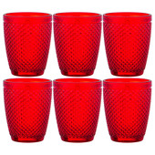 Набор стаканов 6шт 280мл Lefard гранат Muza Color 781-165