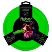 Тарелка летающая флайбер d22 м зеленая 62175