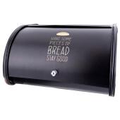 Хлебница 30*26*17см Agness черное золото 790-164