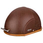 Хлебница 36*26*20см Agness шоколад деревянная с пластиковой крышкой 938-051