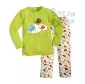 Пижама для девочек машук джемпер и брюки р.28 бордовый 356д-1121п