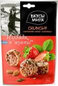 Кранчи вкусы мира 50 г клубника орехи семечки