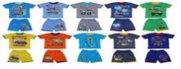 Комплект детский для мальчиков футболка+шорты р.7-8 км-1403