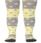 Колготки детские конте дисней р.104-110 серый-желтый 17с-134спм