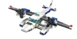 Игрушка-конструктор блаупункт самолет 3 в 1 без механизма bp103
