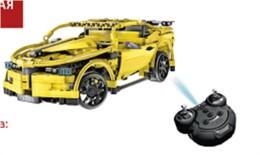 Игрушка-конструктор блаупункт гоночная машина электромеханическая для у bp107