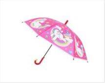 Зонт единорог розовый